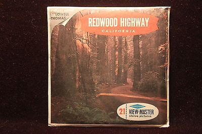 """Redwood Hwy. California Viewmaster 1960's """"RARE"""" Factory Sealed"""