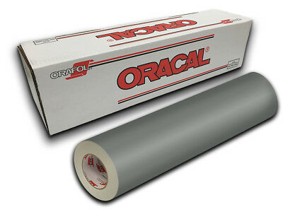 """12"""" X 10yd - Middle Grey Oracal 651 Craft, Graphics & Hobby Cutting Vinyl"""