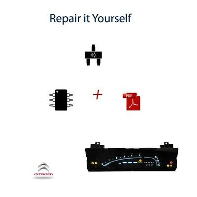 Repair kit for dashboard cluster instrument panel Citroen C6