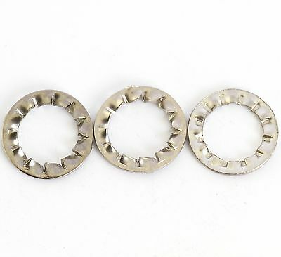 M4 SHAKEPROOF WASHER Internal Serrated Lock Star BZP Fixing Fastener Pack 5