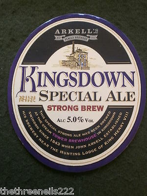 Beer Pump Clip - Arkell's Kingsdown Special Ale
