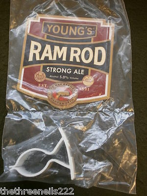 New Beer Pump Clip - Young's Ram Rod (With Fitting Clip)