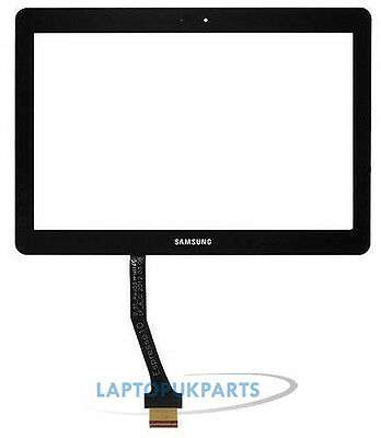 Samsung Galaxy Tab 2 II GT P5100 10.1 Touch Screen Digitizer Panel Front Black