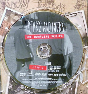 FREAKS AND GEEKS-THE COMPLETE SERIES - DISC 4 ONLY - REPLACEMENT DISC