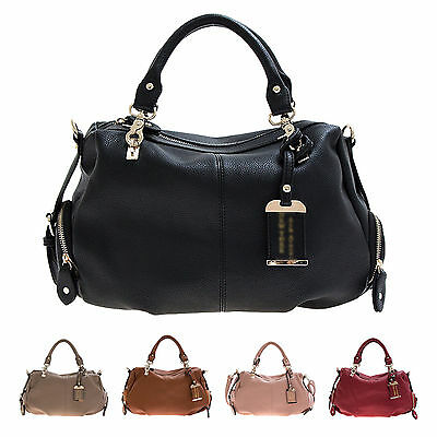 Korean Lady Women Hobo Faux Leather Messenger Handbag Shoulder Bag Purse Totes