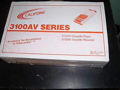 Califone 3100AV Cassette Player