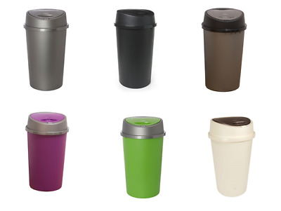 Plastic 45L Touch Top Bin  Rubbish /Dust Bins Kitchen,Home Different Nice Colors
