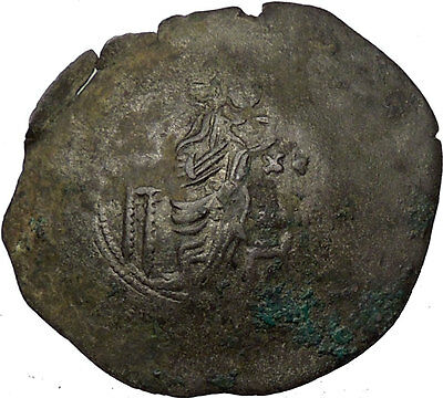 Latin Rulers of Constantinople 1204-1261AD Byzantine Coin Virgin   i36173