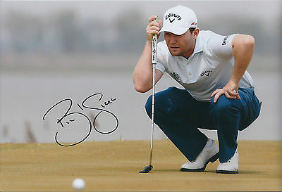 Branden GRACE SIGNED Autograph 12x8 Photo AFTAL COA European Tour Winner Golf