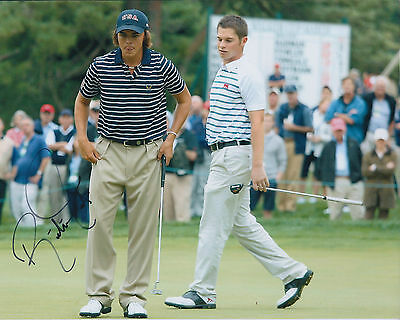 Rickie FOWLER SIGNED Autograph 10x8 Photo AFTAL COA Walker Cup GOLF