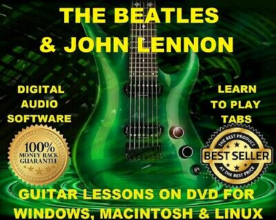 The Beatles 483 & Ringo Starr 67 Guitar Tabs Software Lesson CD 260 Backing Trax