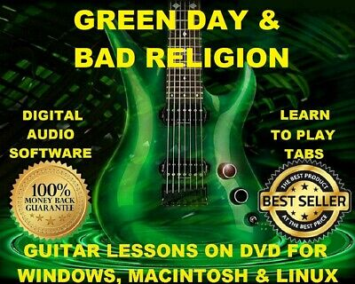 Green Day 416 Bad Religion 268 Guitar Tabs Software Lesson CD 114 Backing Tracks