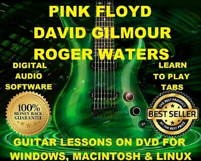 Pink Floyd Guitar TAB Lesson CD 820 TABS 113 BTs David Gilmour Roger Waters