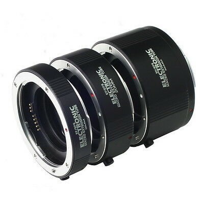 US AF Automatic Macro Extension Tube 13mm+20mm+36mm Set DG for Kenko CANON EF-S