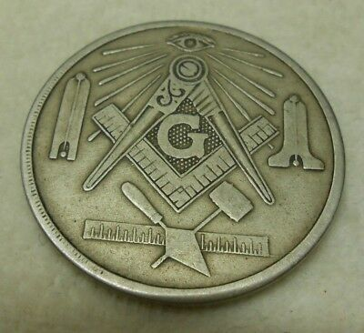 MASONIC TROWEL LODGE NO 981 35th ANNIVERSARY TOKEN