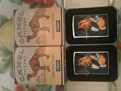 Joe camel zippo lighter very rare
