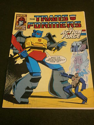 Marvel - Transformers & Action Force #174 - July 16 1988