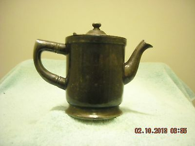Vintage Wear Brite Nickel Silver Creamer Small Syrup Pitcher Grand Silver Co.