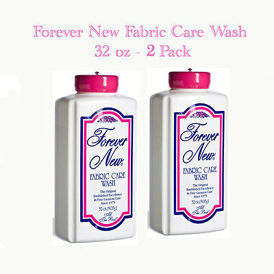 Forever New Fabric Care Wash 32 oz.  (Lot of 2)