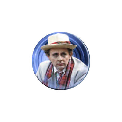 Doctor Who Seventh Doctor Button Magnet