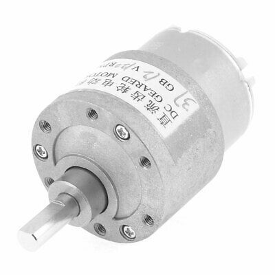 120RPM 6mm Shaft Dia 2 Terminals Electric Gearbox Geared Motor 12VDC