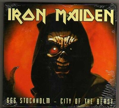 Iron Maiden – * 666 STOCHKOLM * CITY OF THE BEAST - 2 CD DIGIPACK LIVE 28/6/'03