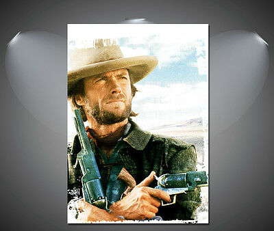 Clint Eastwood The Outlaw Josey Wales Vintage Movie Poster - A1, A2, A3, A4