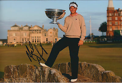 Nick DOUGHERTY SIGNED 12x8 Photo AFTAL Autograph COA St Andrews Dunhill Links