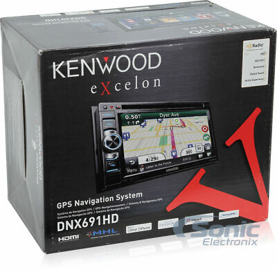 NEW KENWOOD DNX690HD EXCELON DVD/NAVIGATION / REAL EXCELON BROWN BOX / NOT BLUE