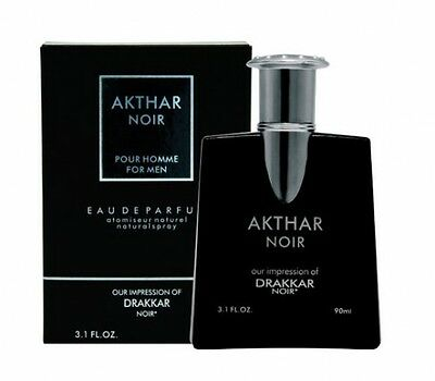 Akthar Noir spray Cologne 3.1 oz (impressions of Drakkar Noir Guy Laroche)
