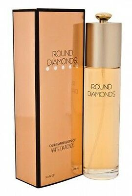 Round Diamonds Perfume 3.3 Oz (Our Impression of White Diamonds)