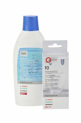 Bosch Coffee Machine Cleaning Tabs and descaler Kit - 311196