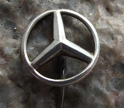 Mercedes Mercedes-Benz Cars German Automobiles Three Pointed Star Logo Pin Badge
