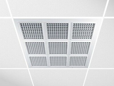 Suspended Ceiling Panels 595mm x 595mm Ceiling Square Tiles Air Vent Grille