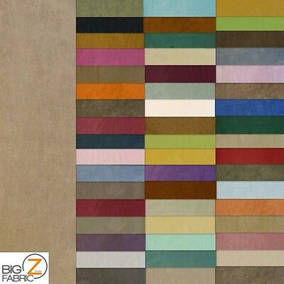 "MICROFIBER PASSION SUEDE UPHOLSTERY FABRIC - 50 Colors - 58"" WIDTH MICROSUEDE"