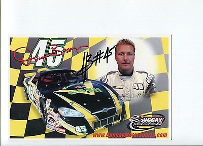 Dwayne Buggay NASCAR USAR Pro Cup Driver Signed Autograph Photo