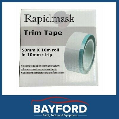 Jtape Perforated Trim Windscreen Rubber Masking Tape 55Mm Wide X 10Mm