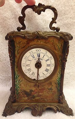 Antique Alarm Clock Possibly Made In France