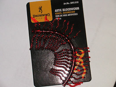 Genuine Browning artificial bloodworms,carp fishing,NEW