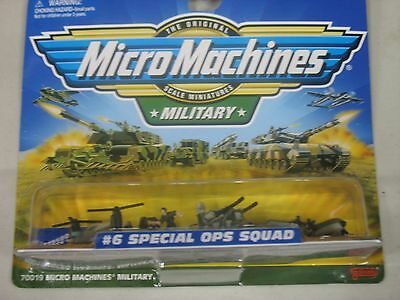 Micro Machines Military #6 Special Ops Squad 1999 *FACTORY SEALED*