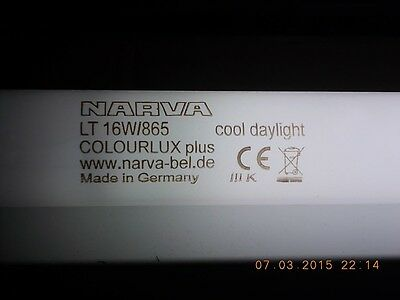NARVA LT 16W/865 cool daylight COLOURLUX plus www.narva-bel.de Made in GermanyCE