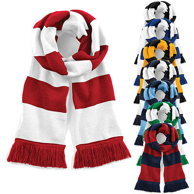 Football and Rugby Team Supporters Scarf Contrast Scarves Extra Long BNWT