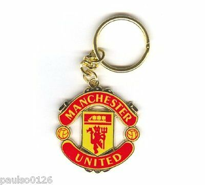 New Official Manchester United Football Club Keyring