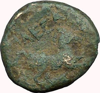 Alexander III  The Great  336BC Ancient Greek Coin  APOLLO Healer HORSE i33627