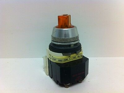 Guaranteed! Allen-Bradley Illuminated 2-Pos. Selector Switch 800T-16Hx17Kb6