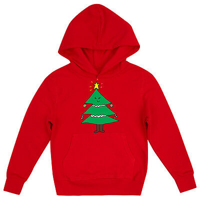 Mrs Christmas Tree Cute Girls Fun Novelty Festive Xmas Childrens Hoodie