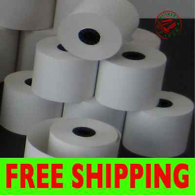 "2-1/4"" x 230' THERMAL CASH REGISTER PAPER - 100 NEW ROLLS  ** FREE SHIPPING **"