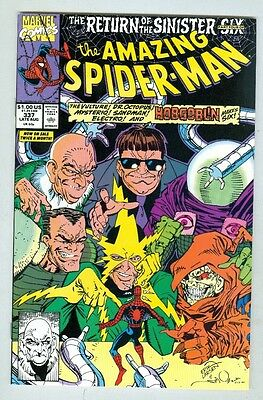 Amazing Spider-Man #337 August 1990 NM Sinister Six
