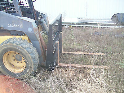 Versatech Pallet Fork Carriage Skid Steer Loader - Attachment