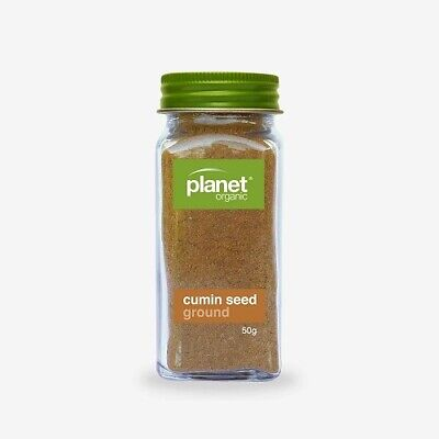 Certified Organic CUMIN SEED (Ground) Dried Herb Spice PREMIUM QUALITY